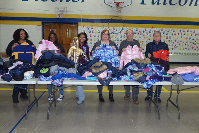 Warm Coats for Head Start Children