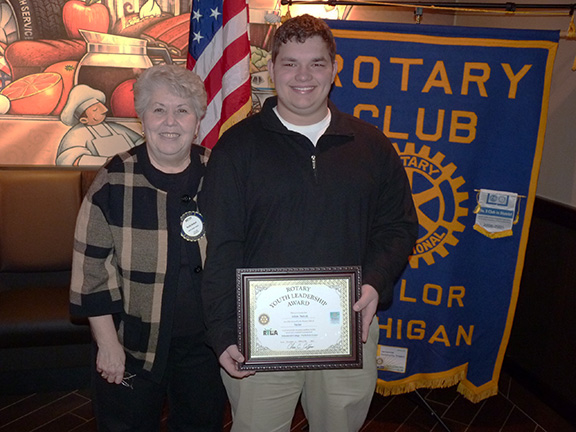 Rotary Youth Leadership Awards Graduate
