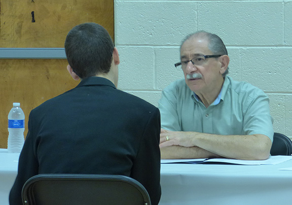 Mock Job Interviews at Taylor Career Center